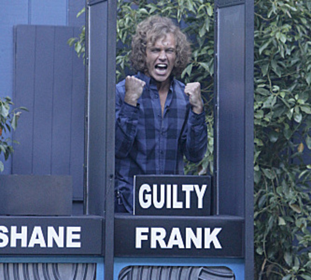 "Frank wins the ""Big Brother Break In"" LIVE Head of Household competition in Big Brother USA"