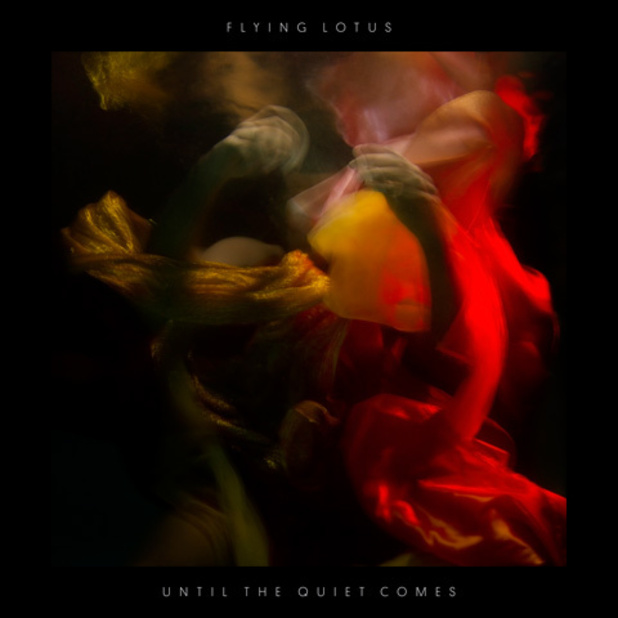 Flying Lotus 'Until The Quiet Comes' sleeve