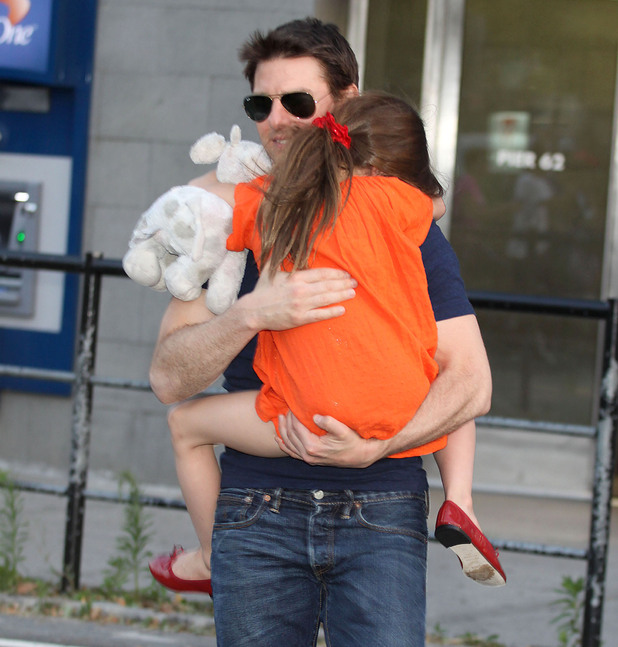 Tom Cruise and his daughter Suri