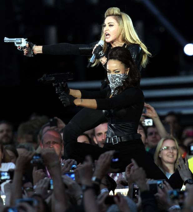 Madonna in Hyde Park
