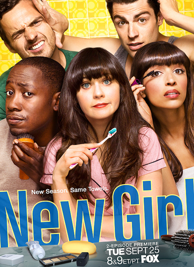 Poster for season 2 of 'New Girl'