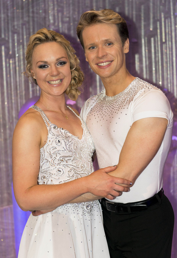 Pippa Wilson with partner Mark Hanretty