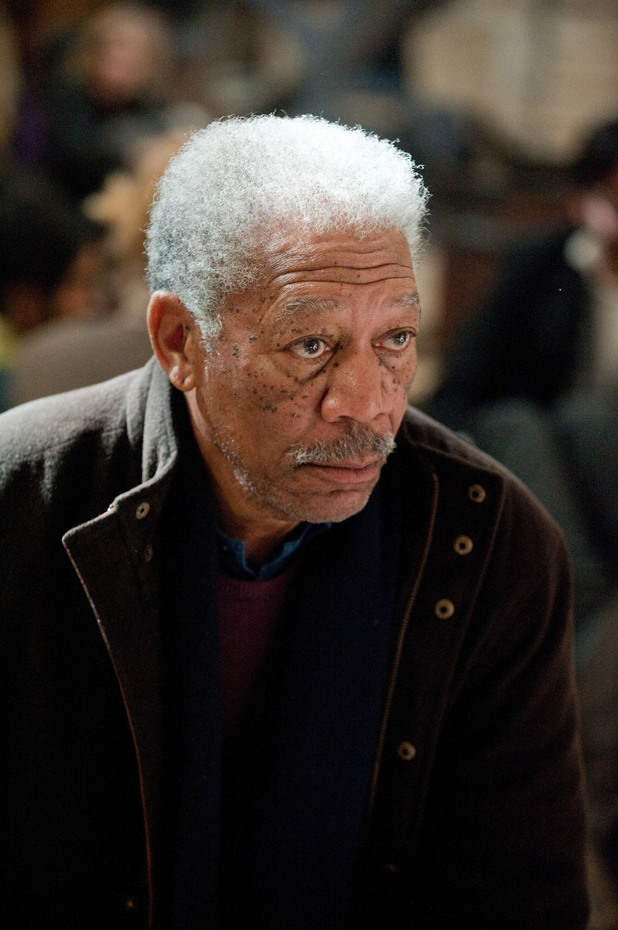 The Dark Knight Rises Morgan Freeman Lucius Fox