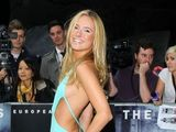 Kimberley Garner at Batman Dark Knight Rises premiere