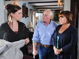 Amy finds out Kerry is in hospital, but tells Eric and Brenda she does care if her mum lives or dies.