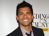 "Mark Consuelos attends the after party for the opening night of ""Standing on Ceremony : The Gay Marriage Plays"" in New York, Sunday Nov. 13, 2011."