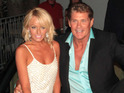 The Baywatch star's partner was part of a recent sea rescue.