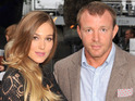 Jacqui Ainsley appears at Dark Knight Rises premiere with a baby bump.