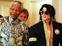 See the former South African president with some of the rich and famous.