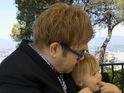 Elton John says that he does not want Zachary to be an only child.
