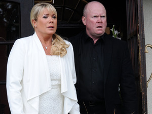 Sharon returns to Eastenders in desperate need of Phil's help.