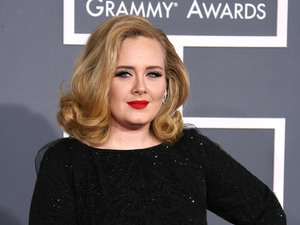 Adele Adkins 54th Annual GRAMMY Awards (The Grammys) - 2012 Arrivals held at the Staples Center Los Angeles, California - 12.02.12 Mandatory Credit: Adriana M. Barraza/ WENN.com