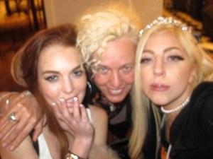 Lindsay lohan, Lady GaGa, Ellen Von Unwerth