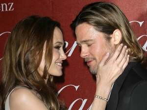 Angelina Jolie and Brad Pitt at the 23rd annual Palm Springs International Film Festival Awards Gala at The Palm Springs Convention Center in Los Angeles, California - 07.01.12