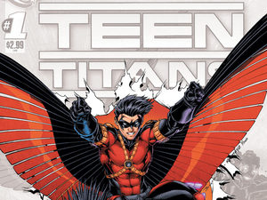 &#39;Teen Titans&#39; #1 cover