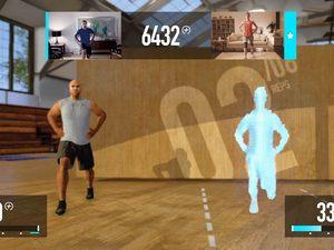 &#39;Nike+ Kinect Training&#39; screenshot