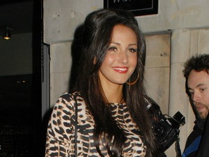 Michelle Keegan outside Anaya Nightclub in Mayfair where she celebrated her 25th Birthday with friends London, England - 30.06.12 Mandatory Credit: WENN.com