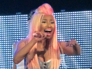 Nicki Minaj performing live at the Hammersmith Appollo London, England - 24.06.12 Mandatory Credit: Stuart Castle / WENN.com