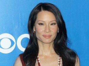 Lucy Liu at the CBS Upfront Presentation in New York, America on 16 May 2011.