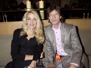 JERRY HALL AND MICK JAGGER CANCER AWARENESS PARTY