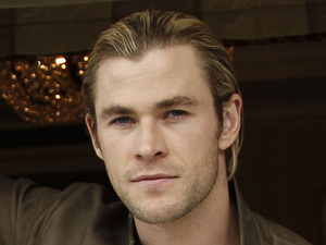 Chris Hemsworth, portrait, April 2012