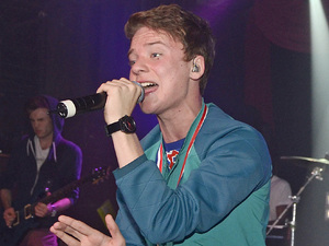 Conor Maynard performing at G-A-Y, London.