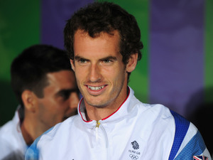 Great Britain's Andy Murray during the Team GB Press Conference at The All England Lawn Tennis and Croquet Club, Wimbledon, London.