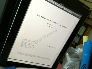 Ron Howard&#39;s &#39;Arrested Development&#39; script