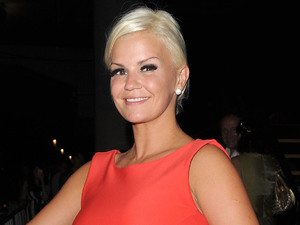 Kerry Katona leaving The Supperclub. London, England