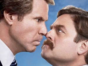 The Campaign poster, Zach Galifianakis, Will Ferrell