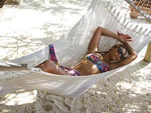 Beyonce in a bikini