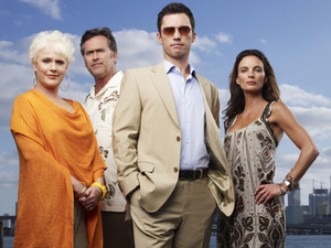 Burn Notice main cast