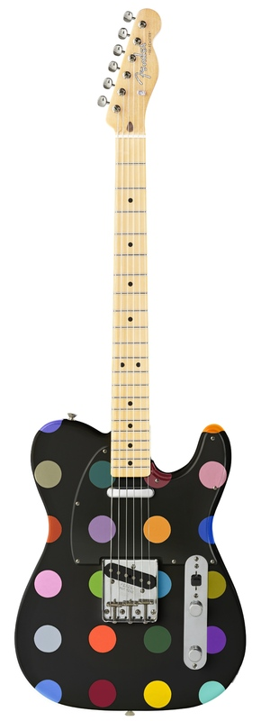Damien Hirst's electric guitar