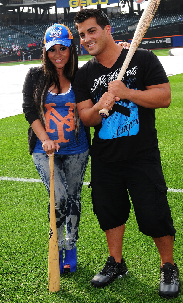 Nicole 'Snooki' Polizzi and her fiance Jionni LaValle
