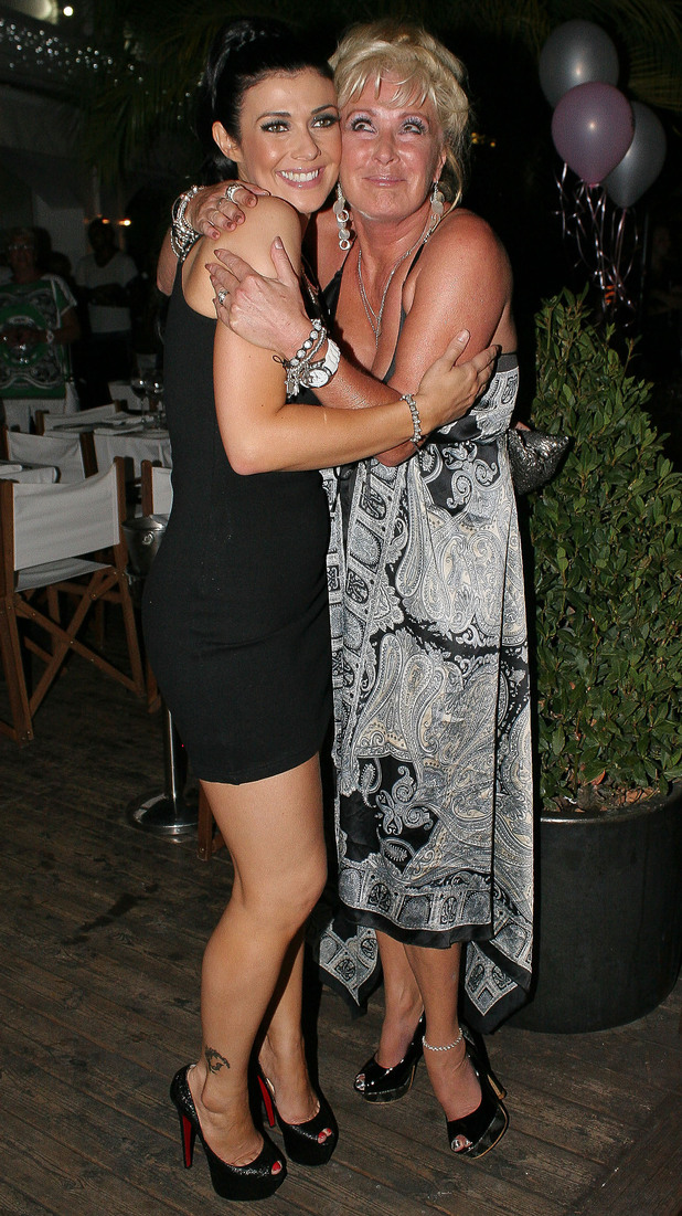 Kym Marsh is joined by fellow Coronation Street cast member, Beverley Callard as she celebrates her hen night.