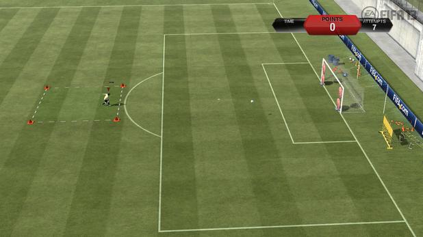 FIFA 13 skill games