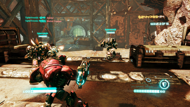'Transformers: Fall of Cybertron' escalation screenshot