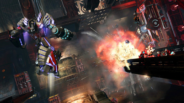 'Transformers: Fall of Cybertron' single player screenshot