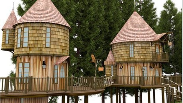 JK Rowling building 150,000 &#39;Harry Potter&#39; treehouses