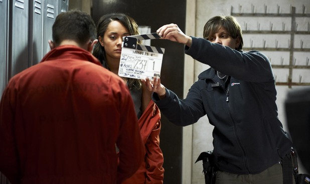 Behind the scenes of Misfits Series 4