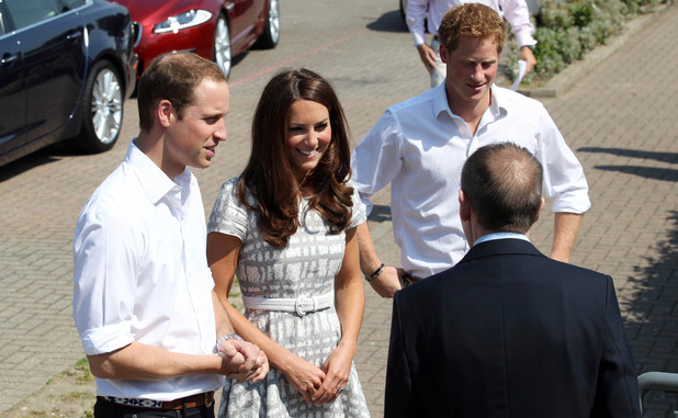 Duchess of Cambridge, Prince William, Olympics 2012, Prince Harry