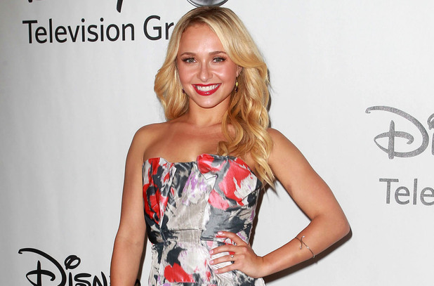 Hayden Panettiere arrives at the 2012 TCA Summer Press Tour.