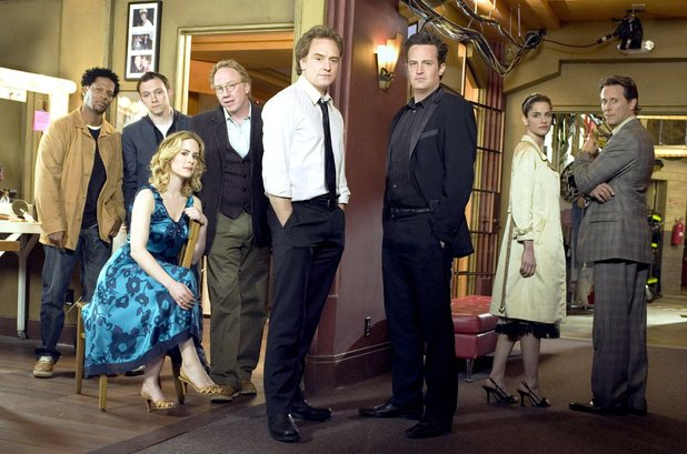 Cast of 'Studio 60 on the Sunset Strip' - D L Hughley, Nate Corddry, Sarah Paulson, Timothy Busfield, Bradley Whitford, Matthew Perry, Amanda Peet, Steven Weber