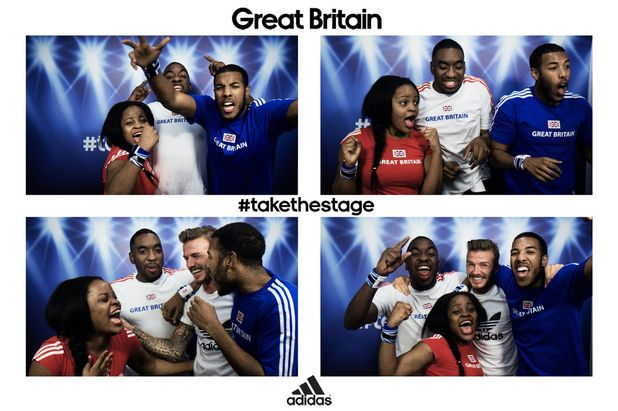 Beckham photo booth