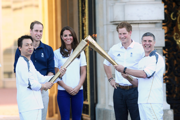 Duchess of Cambridge, Wai-Ming, John Hulse, London 2012 Olympic Torch