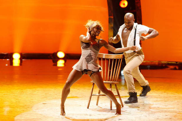 So You Think You Can Dance Season 9 - second live show: Amber Jackson and Brandon Mitchell
