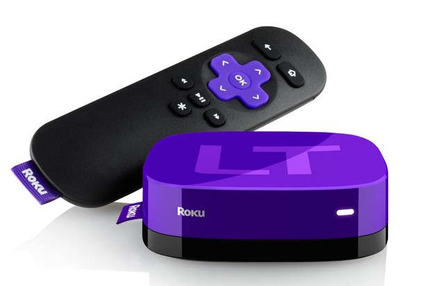 Roku streaming box