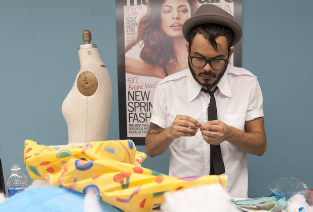 Raul Osorio has to make it work in an all-new episode of Project Runway