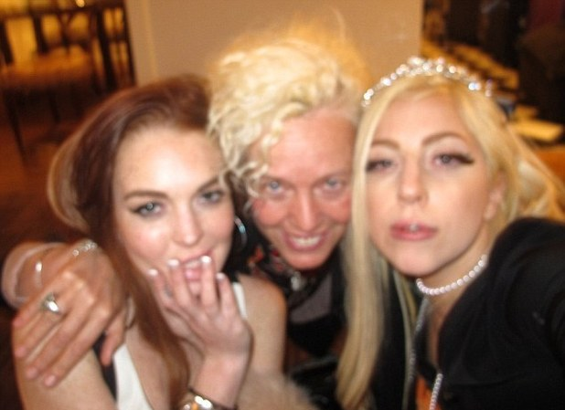 Lindsay lohan, Lady GaGa, Ellen Von Unwerth