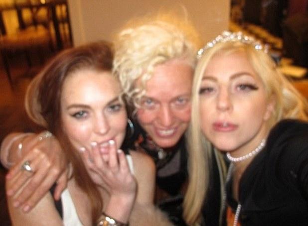 Lady GaGa, Lindsay Lohan and Lana Del Rey